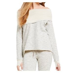 NWT Free People Over It Pullover Top Medium